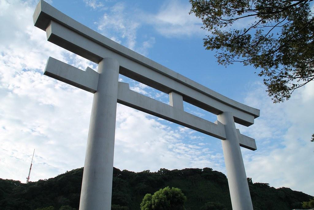Torii of Terukuni Jinja