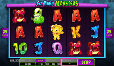 So Many Monsters slot game online review