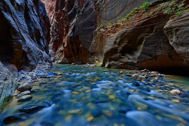 A View trough Wallstreet - Zion National Park