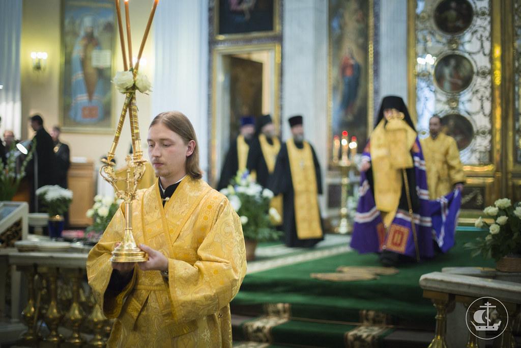 11 сентября 2014, Всенощное бдение в Александро-Невской лавре / 11 September 2014, Vigil at Alexander Nevsky Lavra