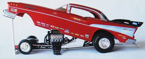 "Tom ""Mongoose"" McEwen 1957 Chevy Funny Car 1:24 Scale ..."