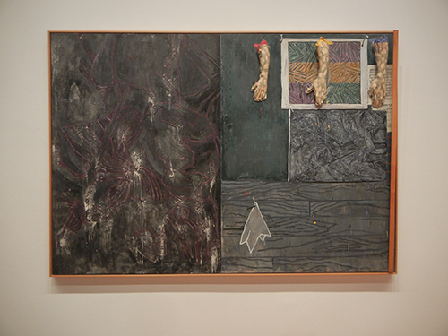 DSCN0012 _ Perilous Night, 1982, Jasper Johns, NGA at De Young