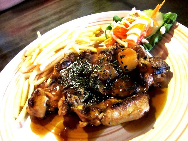 Anson teriyaki chicken chop