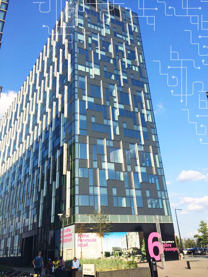 Prédio da Stickyworld em Londres