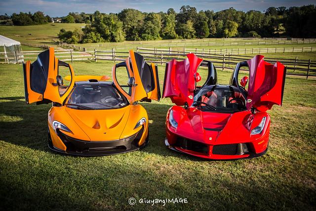 McLaren P1 & Ferrari LaFerrari | Flickr - Photo Sharing!