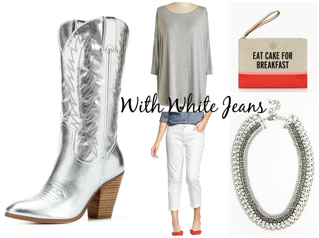 How to Wear: Silver Cowboy Boots - Head to Toe Chic
