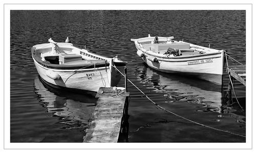 0810aSE  Reflections - Poros, Greece