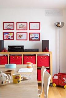 Kid's Art Display & Toy Storage