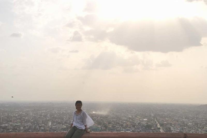428 Jaipur atardece en la ciudad