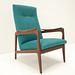 Vintage teak easy chair by Hedenverleden.nl