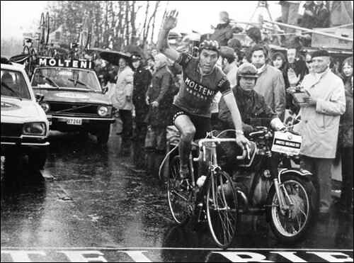 Trionfo di Eddy Merckx all'Amstel '73