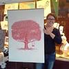 The artist #laurakmurdoch #printmaker