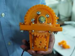 3D Printed Peristaltic Pump