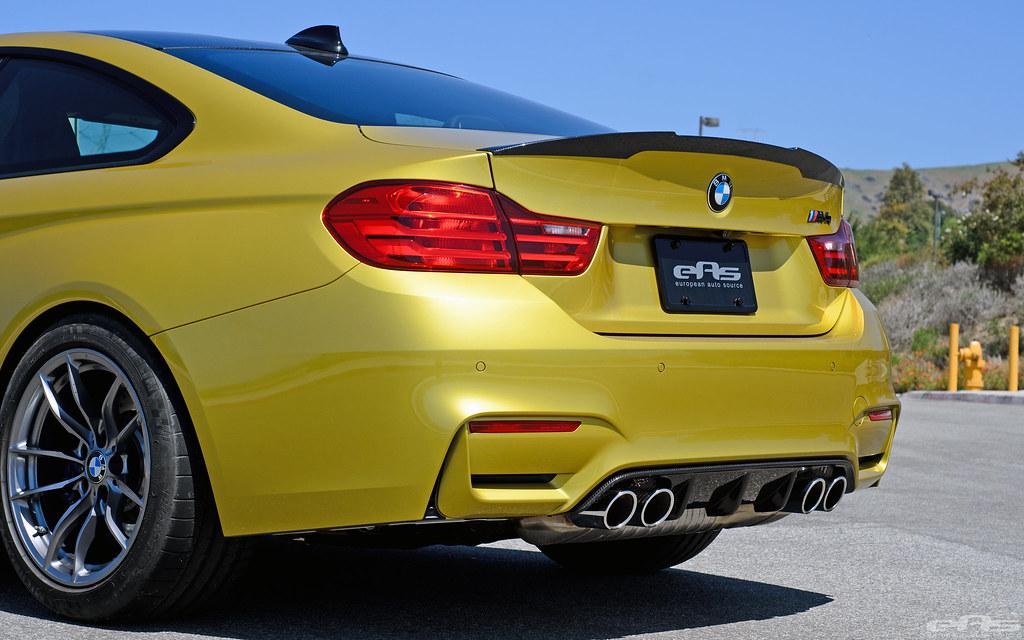 Austin Auto Show >> eas | EAS Austin Yellow M4 gets the M Performance Parts Aero Treatment!