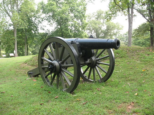 Howitzer At Fort Donelson