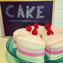 Does anyone else love the word cake?