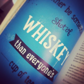 Lovely Quote #blogboek #quote #whiskey #tea