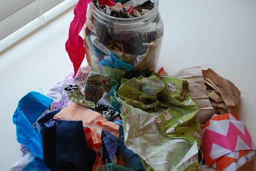 HMQG Scrap Jar