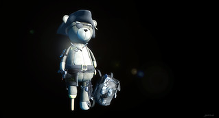 Gacha Pirate Gamer Bear