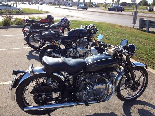 Vincent, Norton, BSA, Suzuki