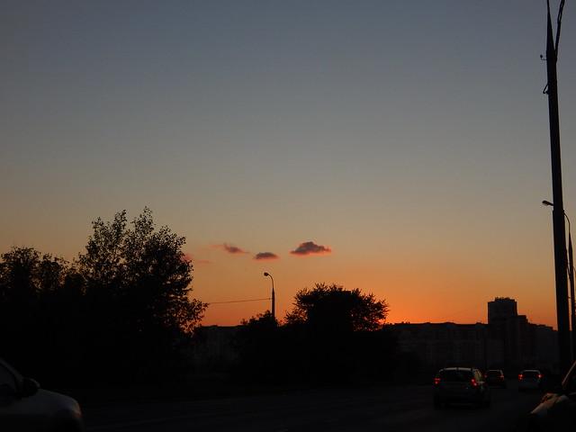 закат над ЮВАО
