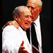 11 Carl Reiner Kissing Mel Brooks by Paul Zollo