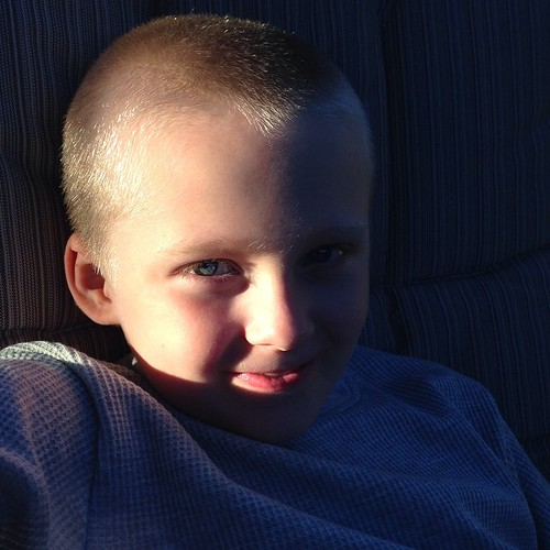 My handsome boy in the late day sun. #mo365