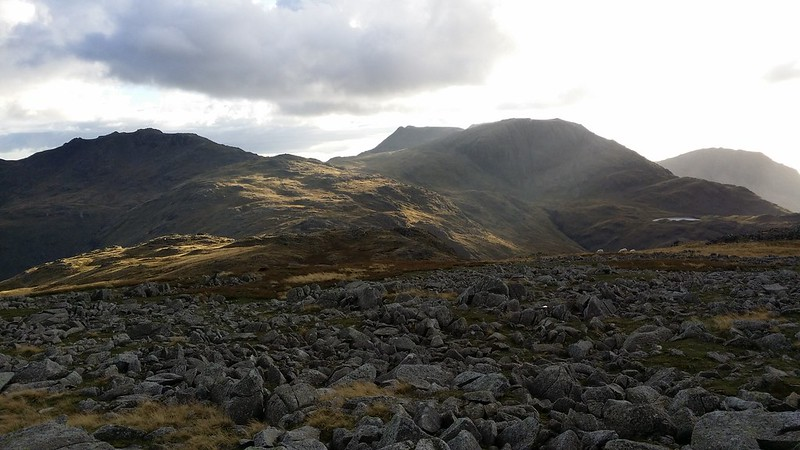 Towards Great End from Glaramara #sh