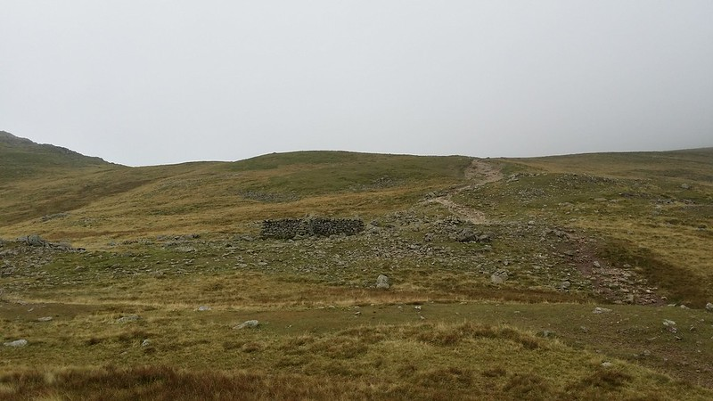 The shelter at Esk Hause #sh