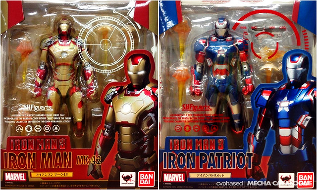 """Iron Man 3"" S.H.Figuarts - Official Packaging"