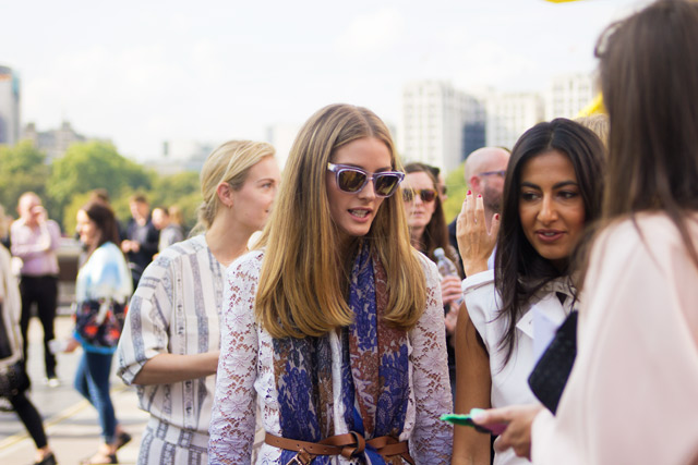 Olivia Palermo at Issa SS15 London Fashion Week