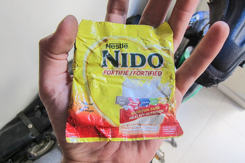 Since Cameroon: powdered milk