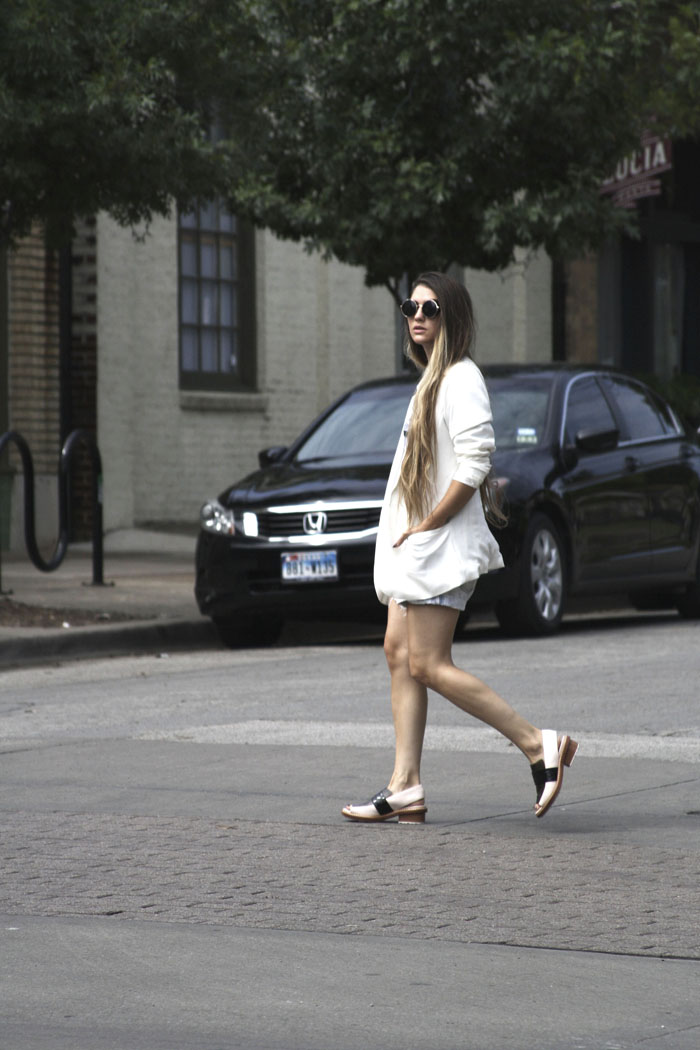 Fringe of the Cro | Phillip Lim's SS 2014 loafers on the street