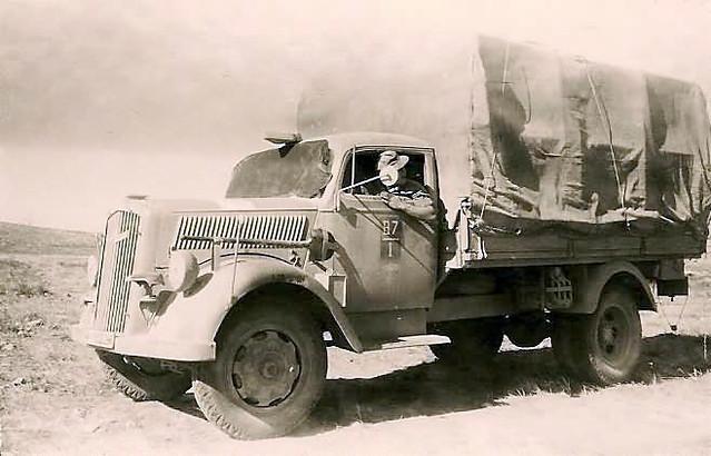 Afrikakorps Opel Blitz
