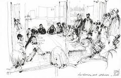 La réunion sans conclusions. Migrants de la Chapelle et d'Austerlitz