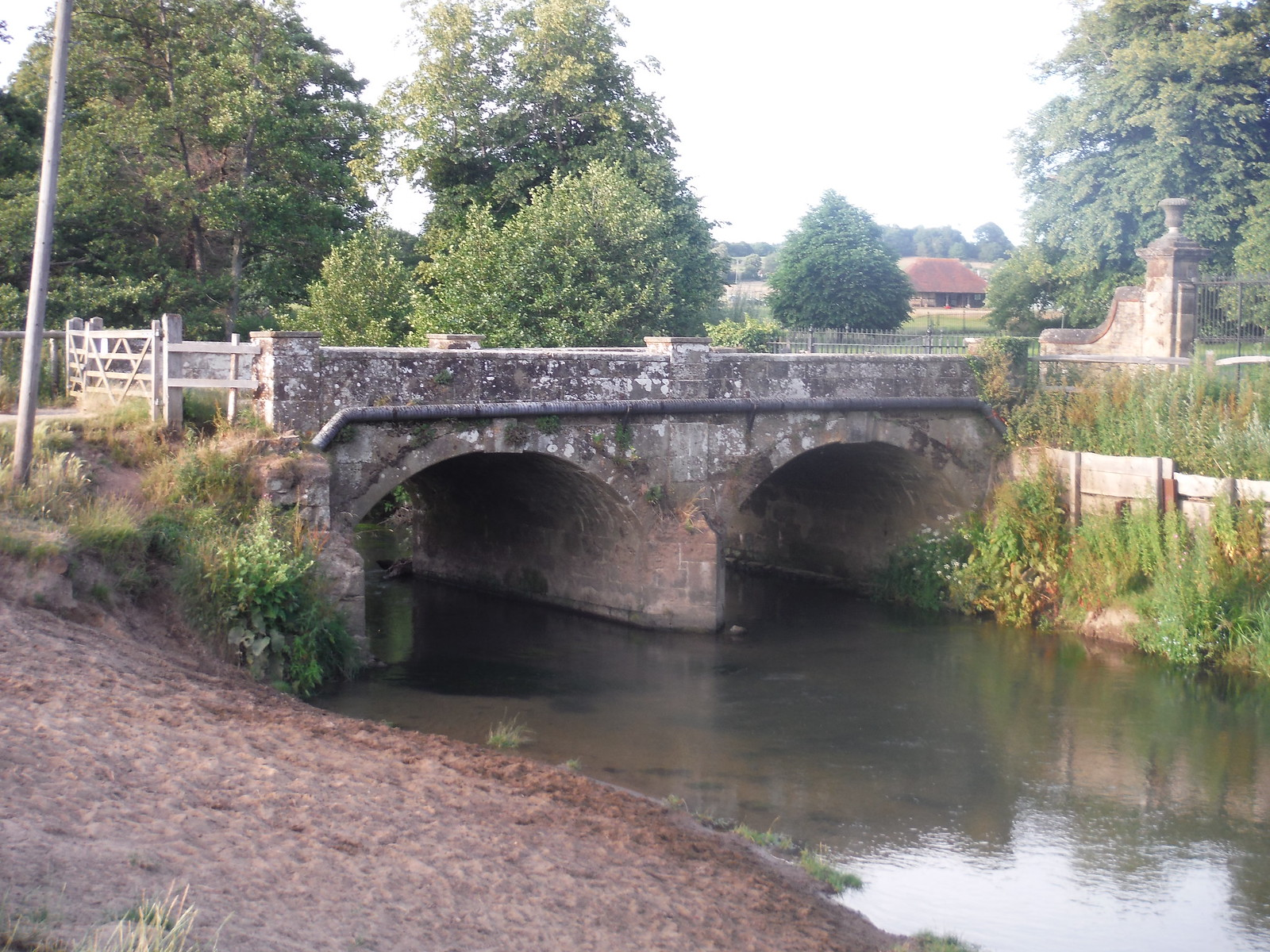Bridge over The Rother, Midhurst SWC Walk 217 Midhurst Way: Arundel to Midhurst