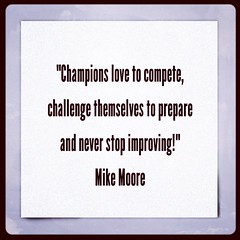 Don't just win, be a champion! #moorethoughts #leadership #leadershipcoach #coaching