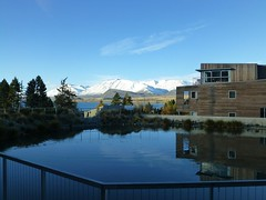 Tekapo - Peppers Bluewater Resort - view from the lobby