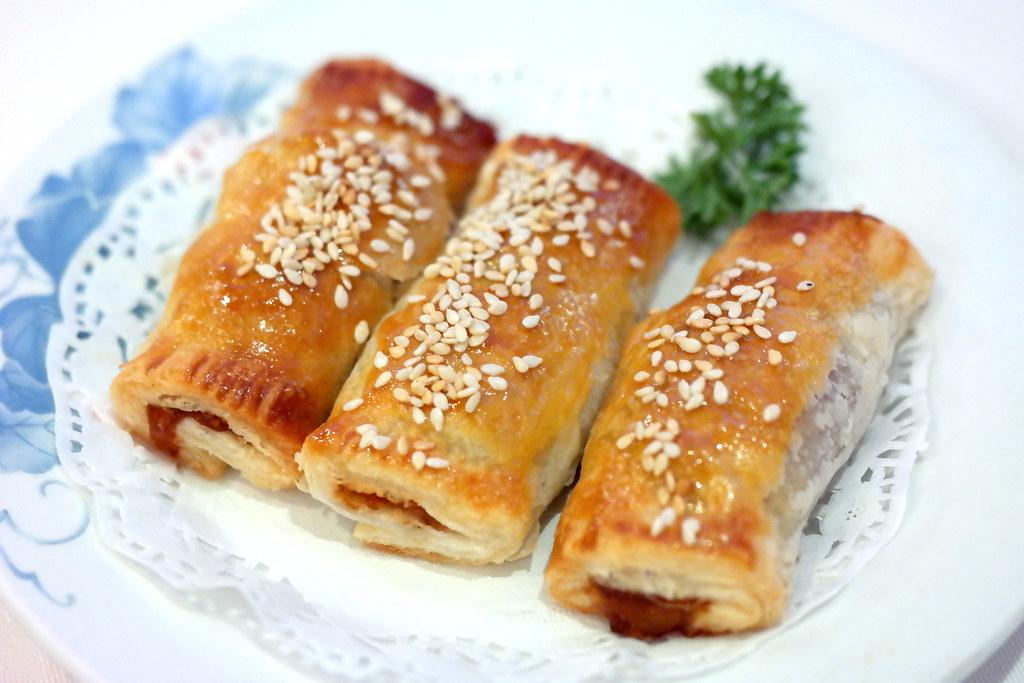 East Ocean Teochew Restaurant: Baked BBQ Pork Pie