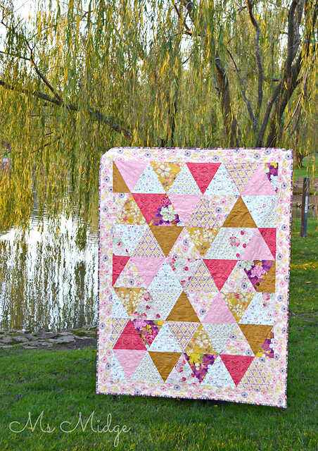 Bohemian Triangle Quilt