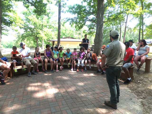 Geocaching can be a fun group activity at Twin Lakes State Park