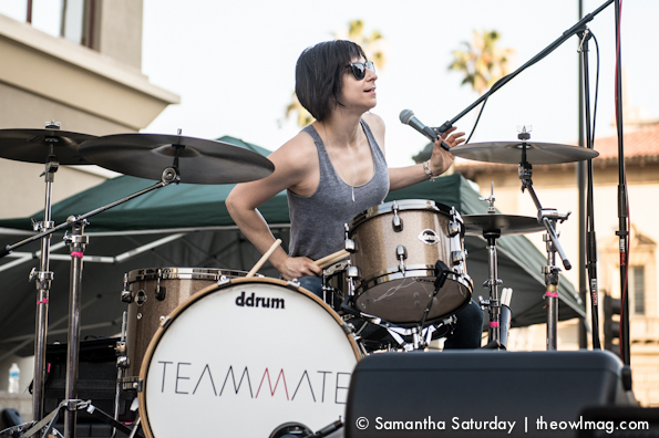 Teammate @ Make Music Pasadena 2014