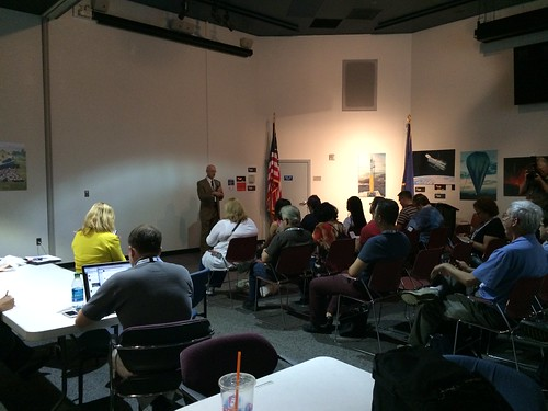 Dr. Eric Smith Speaks to NASA Social Attendees
