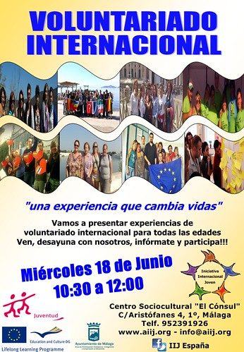 Voluntariado Internacional 18 Junio
