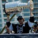 Anze Kopitar with Stanley Cup at 2014 Stanley Cup Championship Parade
