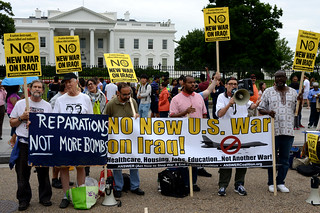 No New War On Iraq DC Rally 5