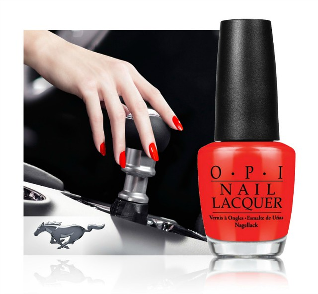 OPI_Ford Mustang Collection, ford mustang, 50 years of ford, OPI, nail polish, limited edition