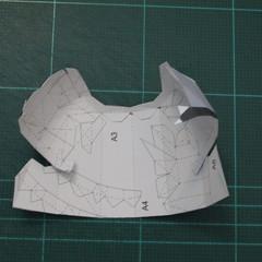 วิธีทำชุดนักบอลฟุตบอลโลก 2014 ทีมเยอร์มันสำหรับโมเดลหมีบราวน์ (FIFA World Cup  Soccer  Germany  Jersey Papercraft Model) 006