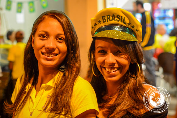 Brazilians in Costume for World Cup 2014