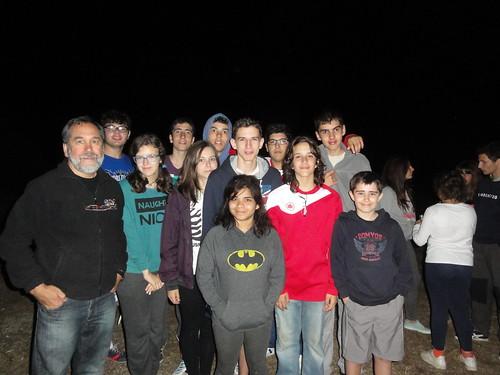 OSAE Almenara. Noche de las estrellas.